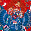 The secret of the mind is Yamantaka and the Wrathful Ones