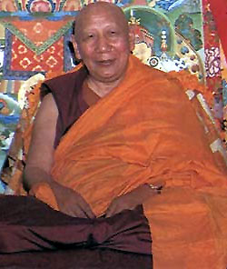 H.H. Kyabje Ling Rinpoche