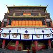 Magnificent Dorje Shugden chapel in Tashi Lhunpo Monastery, Tibet