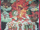 A thangka from a dharma centre