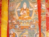 Je Tsongkhapa and two heart disciples