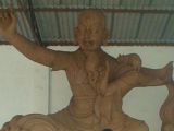 Huge 6 meter Dorje Shugden statue to be housed in Denma Gonsa Monastery.