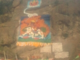 Rock Painting in Kham