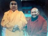 Panchen Lama with Gangchen Rinpoche