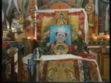 Dorje Shugden's oracle clothes and throne