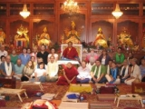 Zasep Tulku in the USA (Dorje Shugden is on the far right)