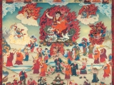 Thangka from Manjushri Kadampa Centre, England