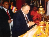 Hon President of European Buddhist Union