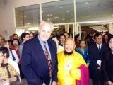Gangchen Rinpoche with UN Deputy Secretary
