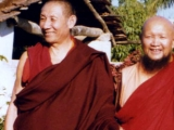 Two great enlightened masters
