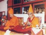 HH Ling Dorje Chang and HH Trijang Dorje Chang