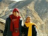 Kundeling Rinpoche with Zawa Rinpoche