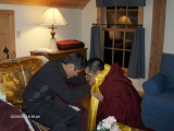 Trijang Rinpoche and Zawa Rinpoche