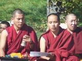 Zawa Rinpoche and Geshe Lobsang Puntsok