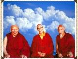 Kyabje Ling Rinpoche, Kyabje Trijang Rinpoche, Kyabje Zong Rinpoche