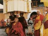 Sogpu Rinpoche Guru Deva with Geshe Tendar
