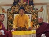 Lama Michel Rinpoche, Trijang Rinpoche, Lama Gangchen Rinpoche