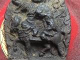 A wonderful Sakya depiction of Dorje Shugden, riding on a horse
