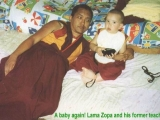 The Dalai Lama said Dorje Shugden practitioners go to the Three Lower Realms. Yet FPMT recognised the reincarnation of their founder Lama Yeshe who relied on Shugden. Odd.