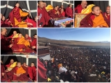 From the time of his recent enthronement until now, hundreds of thousands of people have come to seem Denma Gonsa Rinpoche's blessings