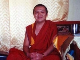 The present incarnation of Kyabje Pabongka Rinpoche. May he live 1000 years to turn the wheel of Dharma