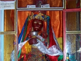 This special statue of Kache Marpo can be found at Samye Monastery. At this time he was known as Tsui Marpo