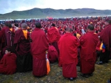 Events by Dorje Shugden lamas in Tibet regularly and easily draw tens of thousands of devotees and practitioners