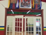 It seems everywhere you look in Tsongkhapa Meditation Centre is an image of their Protector Dorje Shugden