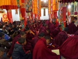 Lama Jampa Ngodup Wangchuk is currently in Markham, Kham giving Lamrim teachings to the monks and laypeople