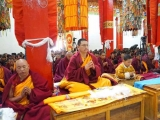 Lama Jampa Ngodup Wangchuk started giving Lamrim teachings in Markham, Tibet seven days ago
