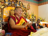 H.E. the 13th Daknak Rinpoche is an eminent Dorje Shugden lama of our time. Daknak Rinpoche is the brother of Kyabje Dagom Rinpoche, who is said to be one with Yamantaka