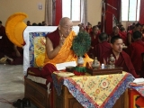 Venerable Kensur Rinpoche Lobsang Phende, the Abbot Emeritus of Shar Gaden Monastery