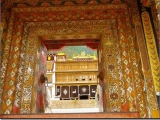 Entrance to the main gompa of Sampheling Monastery, located in the Chatreng district, Kham, Tibet. This is the main monastery of His Holiness Kyabje Trijang Rinpoche and they continue to rely on Dorje Shugden to this day.