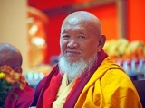 DorjeShugden.com would like to wish a very happy birthday (trungkar tashi delek) to His Eminence Kyabje Gangchen Rinpoche. Known the world over for his incredible work on peace and healing, Lama Gangchen is also very famous for his stalwart, unwavering practice and promotion of Dorje Shugden's precious practice.