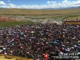 Contrary to reports by the CTA, Dorje Shugden is not a minor practice in Tibet, as evidenced by the hundreds who gather to receive blessings and teachings from H.E. Denma Gonsa Rinpoche, a devoted Dorje Shugden practitioner