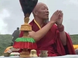 The abbot of Dragyab Magon Monastery in Tibet. Buddhism and Dorje Shugden's practice continues to flourish far away from Dharamsala's meddling influence.