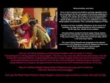 TRIJANG RINPOCHE AND ARI KUTEN<br/>༧སྐྱབས་རྗེ་ཁྲི་བྱང་མཆོག་སྤྲུལ་རིན་པོ་ཆེ་དང་ཨ་རི་སྐུ་རྟེན་མཆོག ༏<br/><br/><br/>Dharma brothers and sisters, <br/><br/>All of us wish to practice the Buddha's teachings regardless of the sect we belong to but the sole purpose of becoming enlightened is to benefit other beings. We all believe in the all-knowing Buddha Shakyamuni,and he is the main focus of every Buddhist but in Tibetan Buddhism each sect has their own meditations on tutelary deities (yidam) and protectors.This is something indigenous of Tibet.<br/><br/>As long as we focus on Buddha Shakyamuni as the source of all teachings, any other divine being that we wish to worship or ask for help from, should not be a problem.Such beings include His Holiness Kyabje Trijang Choktrul Rinpoche who incarnates life after life to disseminate the Dharma.If they were wrong in their practice they would have taken rebirth in the three lower realms.The current Trijang Rinpoche was recognised as the authentic rebirth by both His Holiness the Dalai Lama and the World Peace Protector Dorje Shugden.So this incarnation is confirmed.<br/><br/>Here you see Trijang Rinpoche consulting Dorje Shugden while the oracle is in trance.Trijang Rinpoche is asking questions to Dorje Shugden.They have a very close and affectionate relationship in this life,as they did in previous་lifetimes.Trijang Rinpoche believes in Dorje Shugden all the way and his incarnationas have encouraged disciples around the world to trust and rely on Dorje Shugden.Nothing has gone wrong for Trijang Rinpoche by relying on this great protector and you can see their relationship continues till this day.May His Holiness Kyabje Trijang Choktrul Rinpoche live long and his works be free from obstacles and grow bigger.And may the  World Peace Protector Dorje Shugden continue to give assistance to those who seek his help.<br/><br/>དཔལ་ལྡན་རྡོ་རྗེ་སྤུན་སྲིང་ལྷན་རྒྱས་མཆོག་ལ་ཆེད་ཞུ།<br/><br/>ང་རང་ཚོ་ཚང་མས་སོ་སོའི་ཆོས་བརྒྱུད་དང་འབྲེལ་བའི་སྒོ་ན