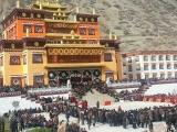 Ganden Dhamcholing Monastery in Markham, Tibet<br/>http://www.dorjeshugden.com/all-articles/news/ganden-dhamcholing-monastery-in-markham-tibet/