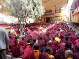 Monlam Great Prayer Puja 2018 at Phegyeling Monastery, Nepal. <br/>http://www.dorjeshugden.com/places/phelgyeling-monastery/
