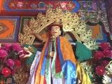 Dorje Shugden statue at Ganden Dhamcholing Monastery in Markham, Tibet<br/><br/>http://www.dorjeshugden.com/all-articles/news/ganden-dhamcholing-monastery-in-markham-tibet/