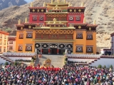 Ganden Dhamcholing Monastery, built and offered to H.E. Dagor Rinpoche through the kindness of loyal Shugden supporters and sponsors.