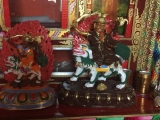 Beautiful Dorje Shugden statues in Tibet...