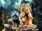 Beautiful new image of Dorje Shugden for action