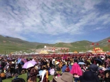 Hundreds of thousands gathering for the enthronement of Kyabje Denma Gonsa Choktrul Rinpoche in Kham, Tibet. Dorje Shugden's practice is clearly thriving. Full coverage of the event will be featured very soon on dorjeshugden.com!