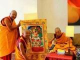 Lama Thupten Phurbu of Tibet and Geshe Kelsang Gyatso
