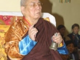 Great Shugden lama, His Holiness Guru Deva Rinpoche of Mongolia