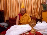HH the current incarnation of Kyabje Pabongka Rinpoche, holder of the lineage of Je Tsongkapa's teachings