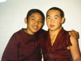 Trijang Rinpoche & Shandav Dandar Rinpoche of Mongolia are good friends since young.‏