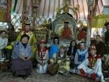 Kyabje Zasep Rinpoche visits Zava Damdin Rinpoche in Mongolia