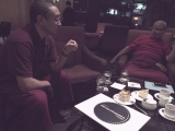 Famous Panglung Kuten oracle with Geshe Kunsang